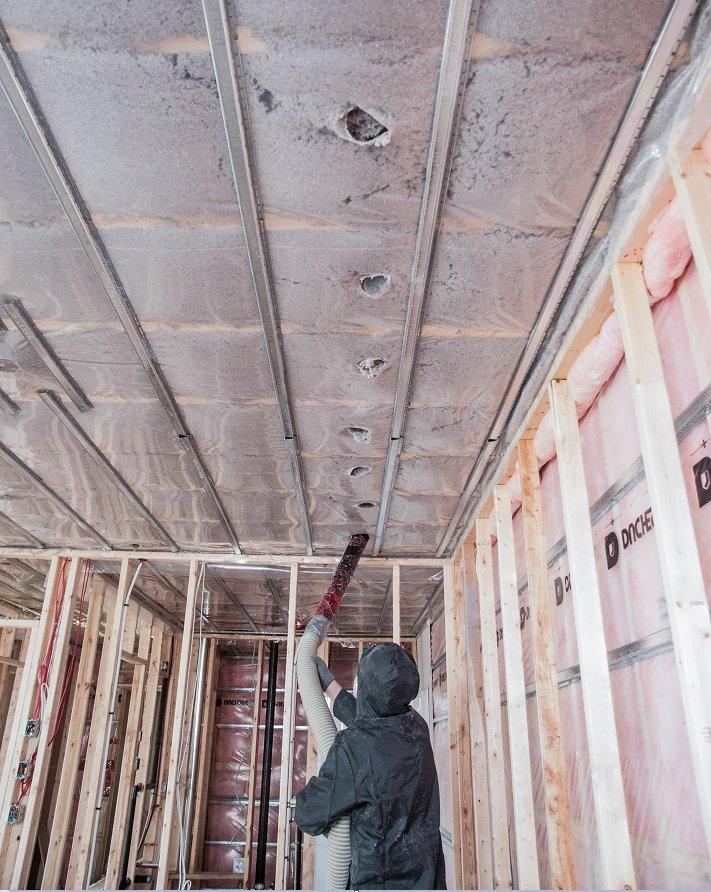 insonoriser un mur mitoyen elegant plaque mur et plafond noma acoustic l x l mm ep with. Black Bedroom Furniture Sets. Home Design Ideas
